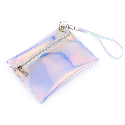 Hologram Wristlets Day Clutch