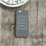 You Look //So// Cool Matte iPhone Case