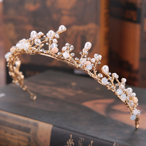 Mermaid Pearl Crown
