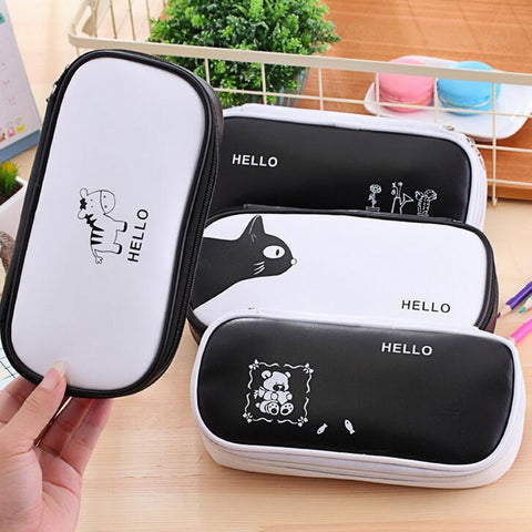Hello Large Storage Bag Pencil Case