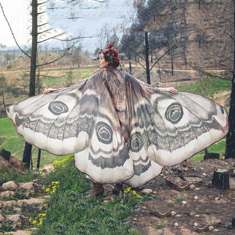 Butterfly Wing Large Fairy Cape