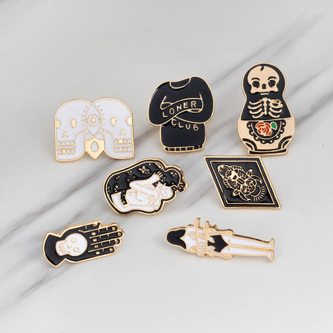 [SET] 7 Piece Unexplainable Mystical Enamel Pins