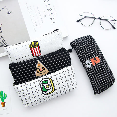 Fast Food Silicone Pencil Case