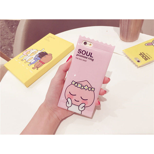 Soul Promise Ring The Face Shop Rubber Protective iPhone Case