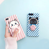 3D Squishy Kitty Claw iPhone Case