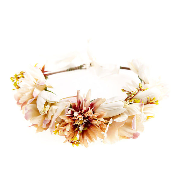 Pure Angelic Flower Crown