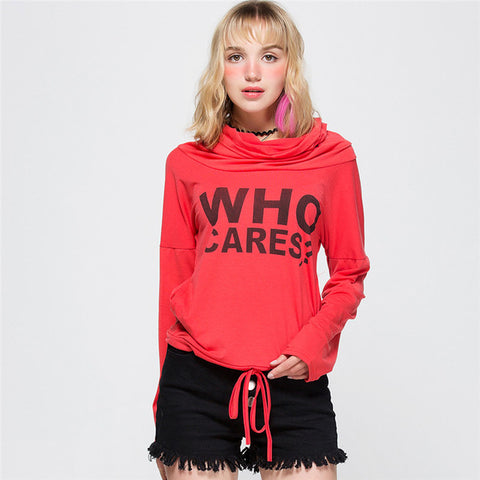 WHO CARES? Sweatershirt