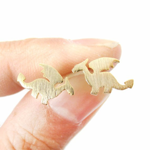 Dragon Stud Earrings