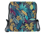 Tropical Nighttime Drawstring Backpack