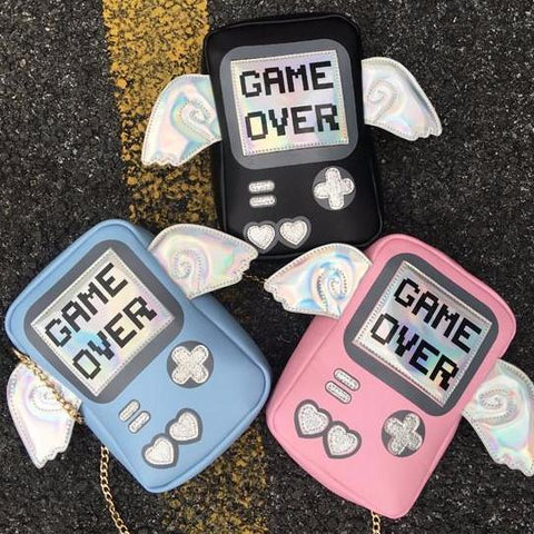 Game Over Mini Shoulder Bag