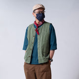 (JK228) Two Face Worker Vest