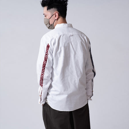 (ST001) Graphic Embroidery Shirt