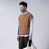 (KN050) Knitted Pullover Vest