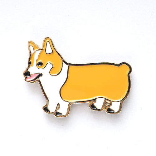 Corgi Badge  (AA320)
