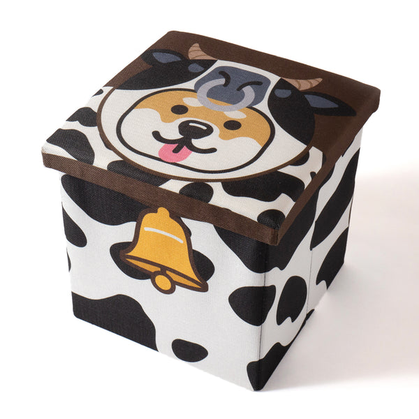(AA384) Ox Graphic Storage Stool