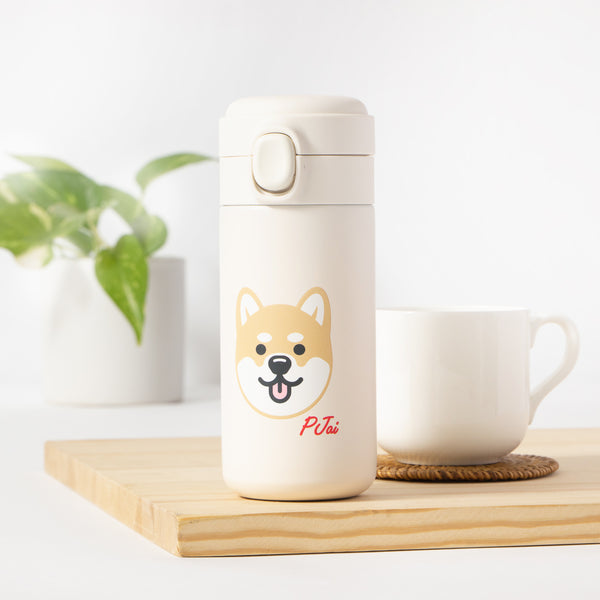 Graphic Thermos Bottle (AA351)