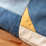 Denim Patchwork Cushion Cover (AA360)
