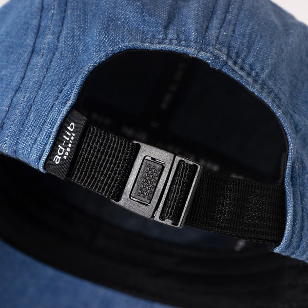 (AC190) Denim 5-Panel Cap