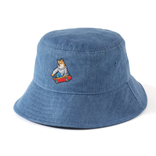 (AH181) Embroidery Bucket Hat