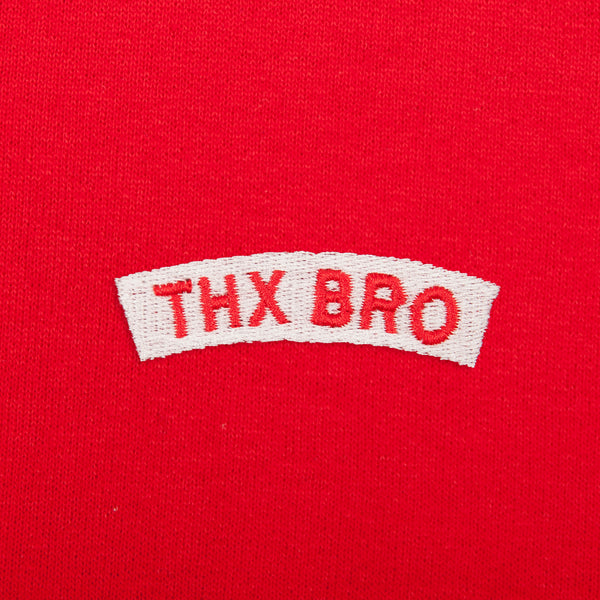 THX BRO Embroidery Hoodie (Online Exclusive) (EMH024)
