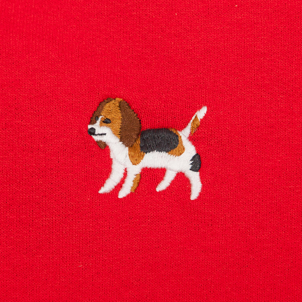Beagle Embroidery Hoodie (EMH029)