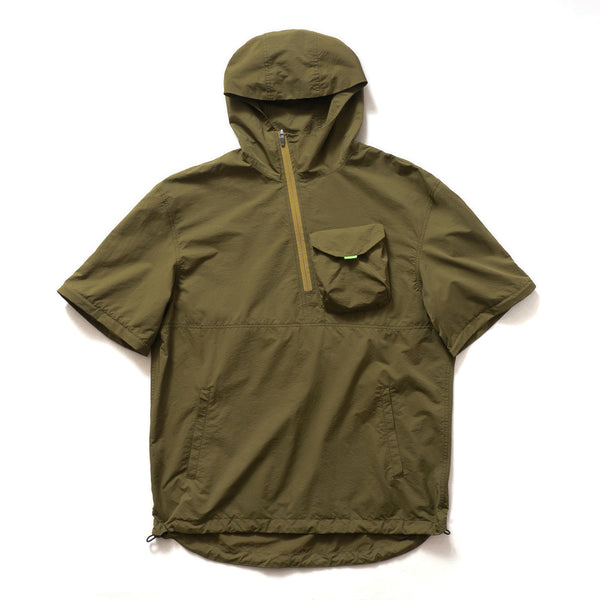 (JK229) Sleeve Removable Anorak