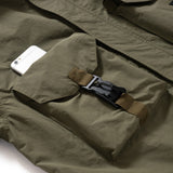 (JK232) Interchangeable Pocket Military Jacket