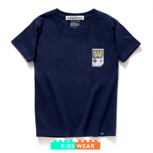 (ZT332) Kids Portable Game Player Graphic Tee
