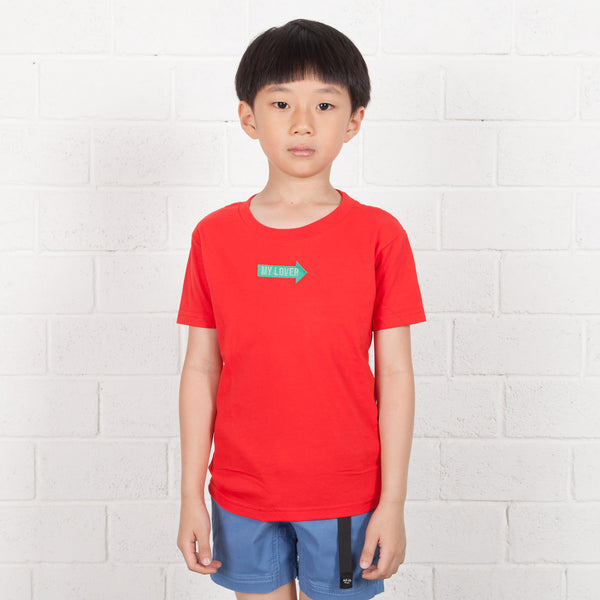 Kids Arrow Box Embroidery Tee (EMT043)