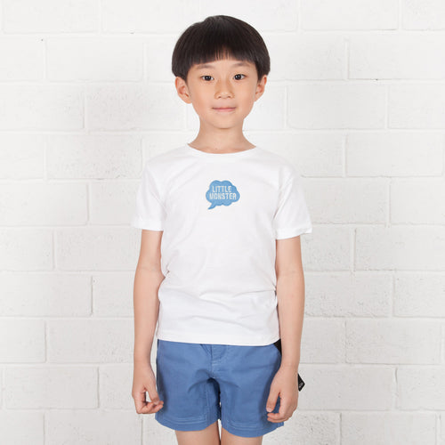 Kids Cloud Box Embroidery Tee (EMT045)
