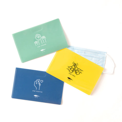 Mask Folder Set - 3 pieces (AA357)