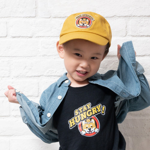 Kids Graphic Embroidery Cap (EX230)