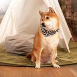 Wave Pattern Dog Bandana (AA367)