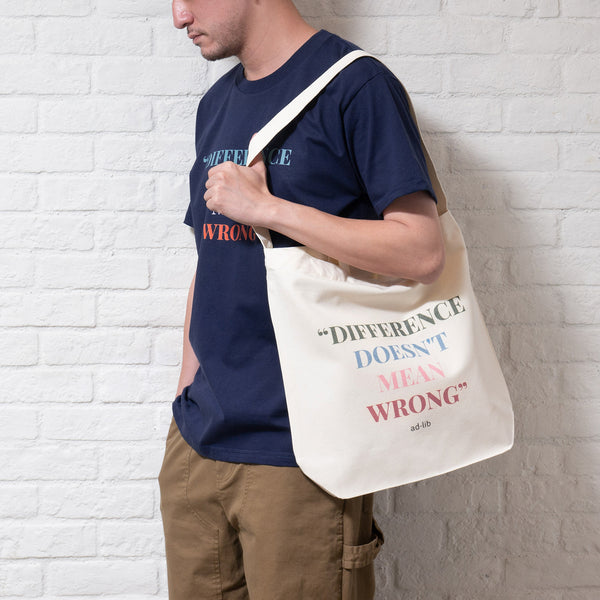 (TB249) DDMW Quote Tote Bag