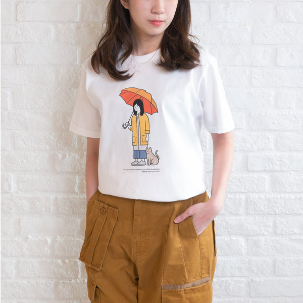 (ZT178) Animal Rights Graphic Tee