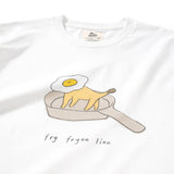 (ZT219) Fried Lion Graphic Tee
