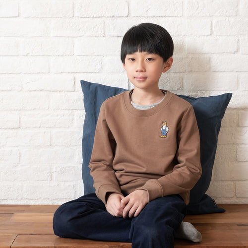 (SW161) Kids Embroidery Sweater