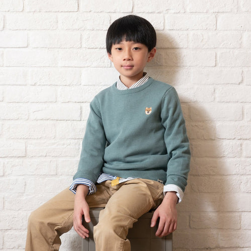 (KN051) Kids Knit Pullover