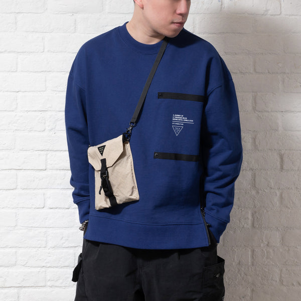 (SW163) Interchangeable Pocket Sweater