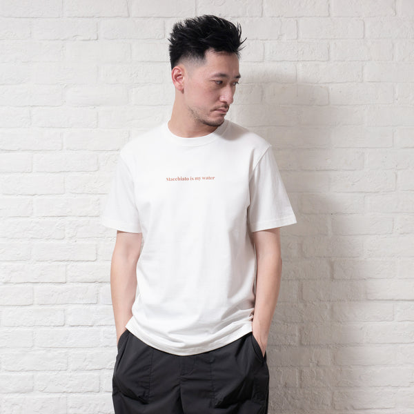 (ZT327) Macchiato Message Heavyweight Tee
