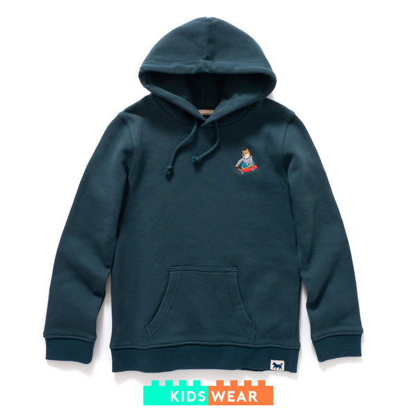 (SW171) Kids Graphic Embroidery Hoodie