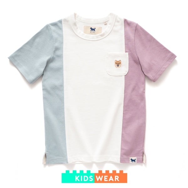 (TP256) Kids Colorblock Tee