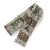 (SC016) Hong Kong Made Bandana Padding Woven Scarf