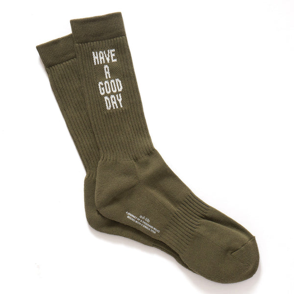 (SK067) Have a Good Day Socks