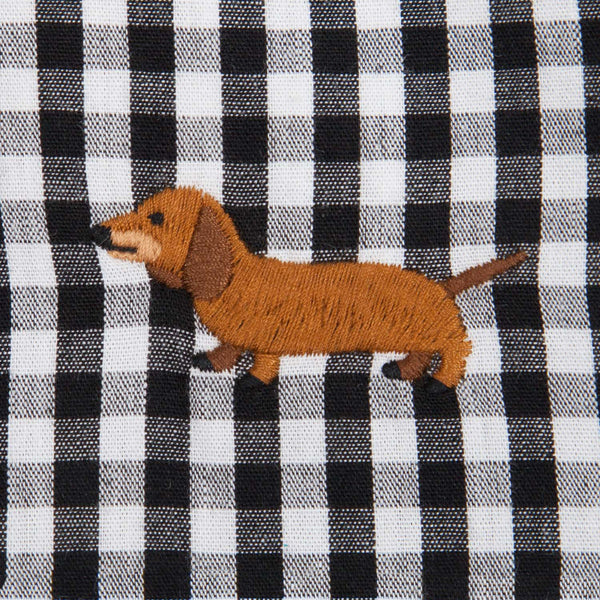 Dachshund Embroidery Shirt (ST783)