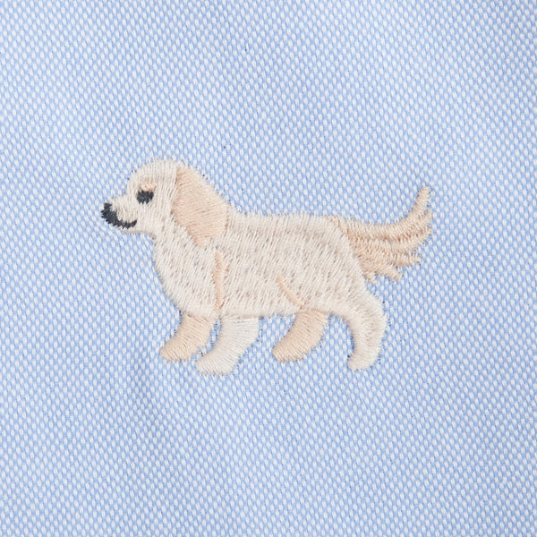 Golden Retriever Embroidery Shirt (ST787)