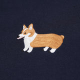 Corgi Embroidery Sweater (SW095)