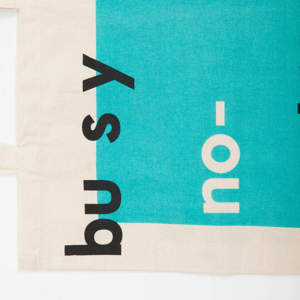 Double-faced Message Tote Bag (TB162)