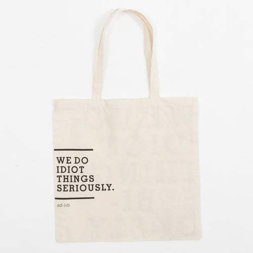 Double-faced Message Tote Bag (TB163)
