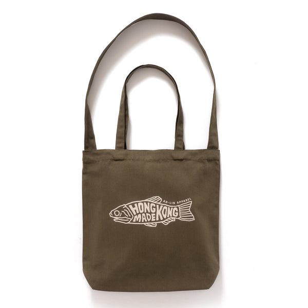 (TB253) HK Made Salted Fish 2-way Graphic Tote